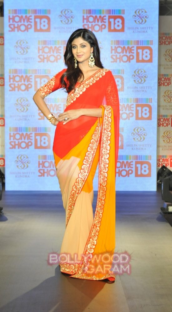Shilpa launches Shilpa SHetty Kundra line of saris-2