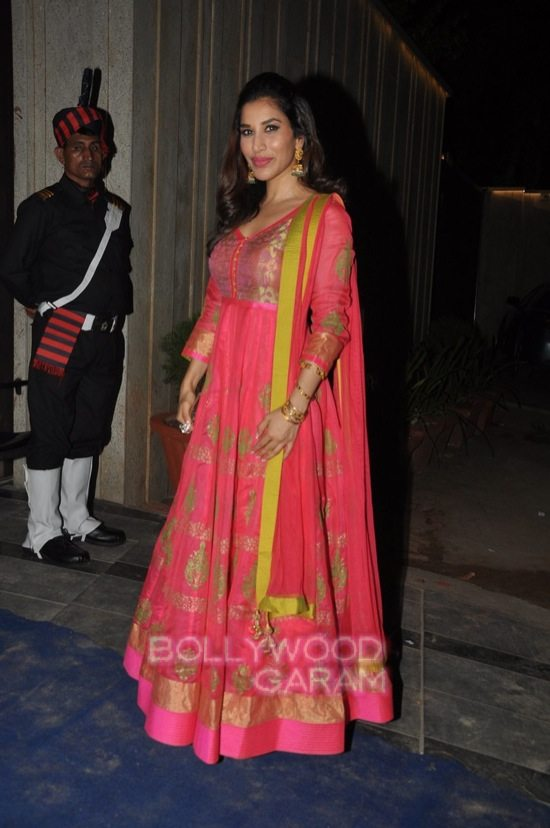 Shriya and Sophie chaudry_diwali bash-9