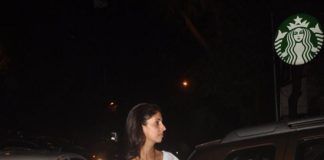 Shweta Bachchan visits parents in Mumbai