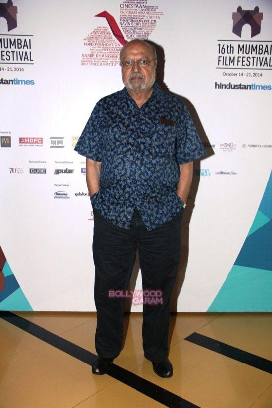 Shyam Benegal at Day 7 of 16th Mumbai Film Festival (MAMI)-1