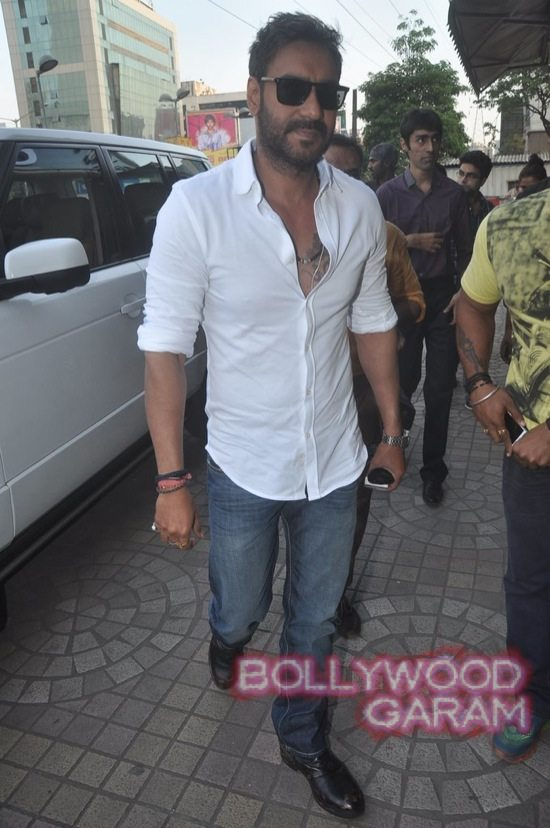 Sonakshi Sinha and Ajay Devgn launch song-1