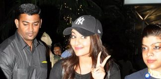 Sonakshi Sinha rocks the all black look in transit