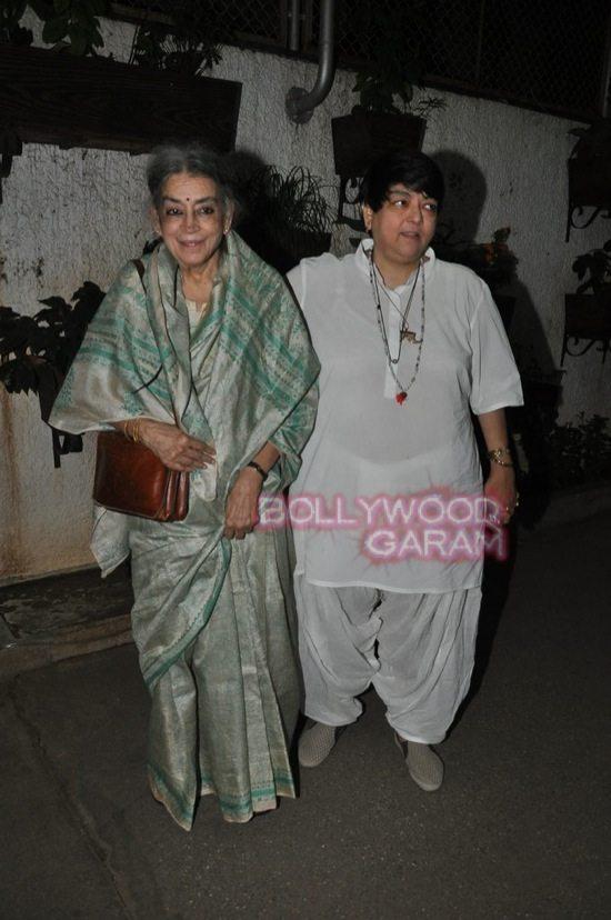 Sonali cable special screening_rekha_varun dhawan-2