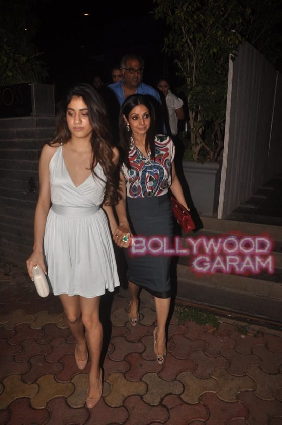 Sridevi and Boney Kapoor family time-2