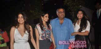 Sridevi, Boney Kapoor and daughters enjoy family time