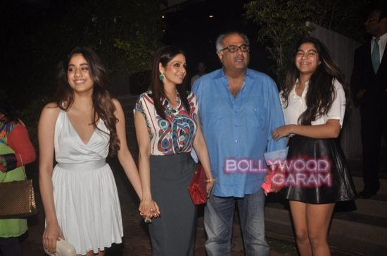 Sridevi and Boney Kapoor family time-4