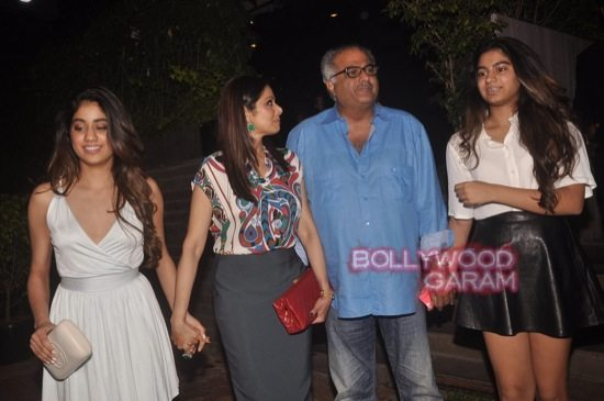 Sridevi and Boney Kapoor family time-5