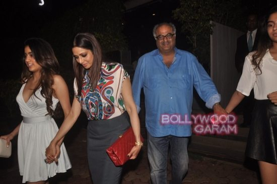 Sridevi and Boney Kapoor family time-6