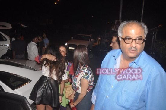 Sridevi and Boney Kapoor family time-7