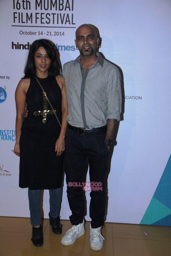 Sugandha Garg and Raghu Ram at Day 7 of 16th Mumbai Film Festival (MAMI)-1