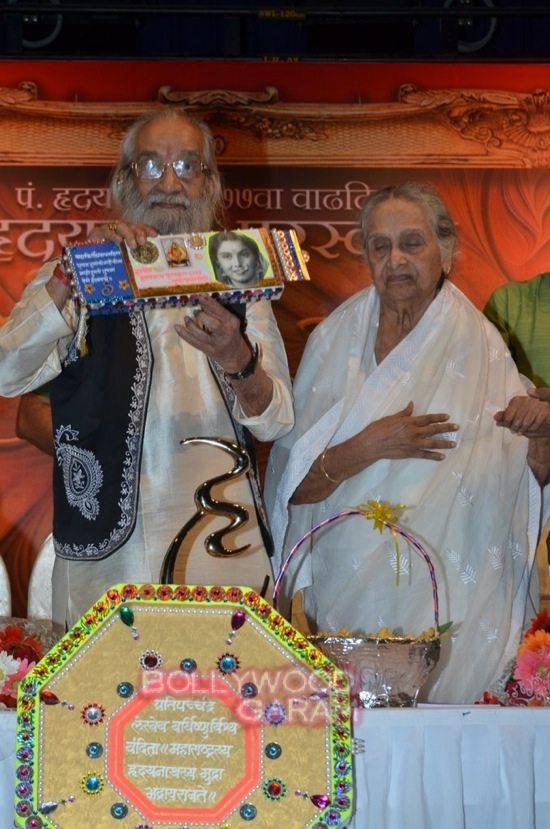 Sulochana Devi_hridaynath mangeshkar award-3