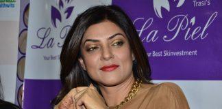 Sushmita Sen attends La Piel clinic's anti-ageing event