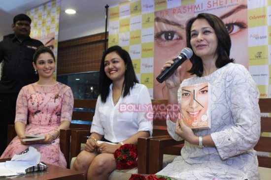 Tamannaah B_rashmi shetty book launch-2