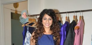 Tanisha Mukerji and Pooja Gupta at Nisha Chainani preview