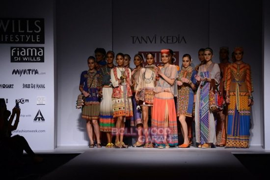 Tanvi K WIFW 2015 collection-17