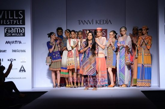 Tanvi K WIFW 2015 collection-19