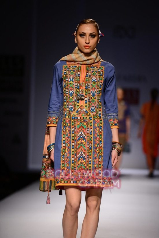Tanvi K WIFW 2015 collection-5