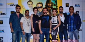 Saif Ali Khan, Ileana D'Cruz and Kalki Koechlin launch Happy Ending trailer