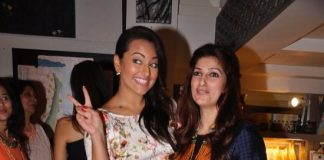 Celebs at Twinkle Khanna's The White Window store