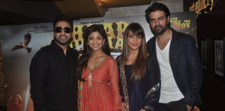 Shilpa Shetty, Bipasha Basu and Harman Baweja at Chaar Sahibzaade promotion