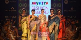 Myntra Fashion Weekend 2014 Photos – Gutthi turns showstopper for Mandira Bedi