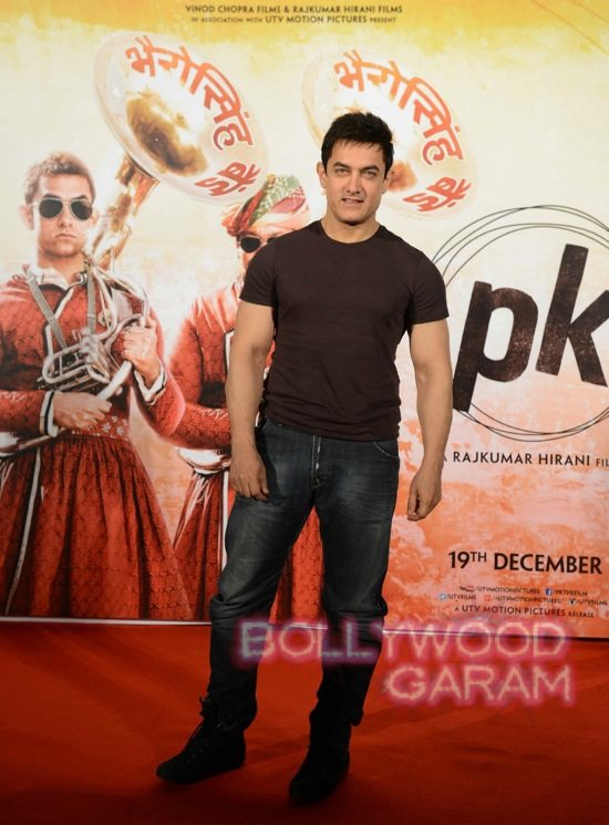 Aamir Khan launches song from P.K-2