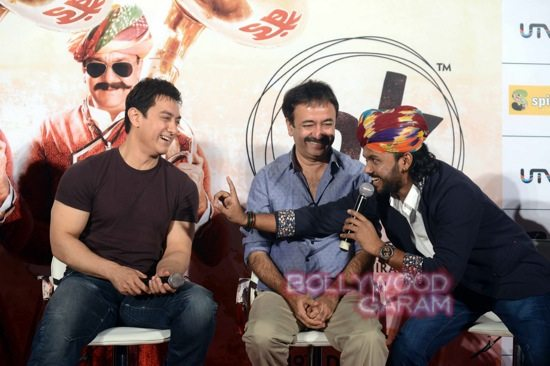 Aamir Khan launches song from P.K-6
