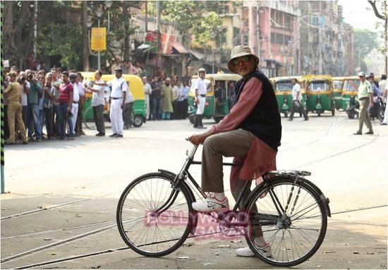 Amitabh bachchan in Kolkata_Piku shooting-1