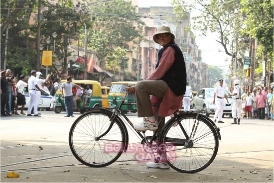 Amitabh bachchan in Kolkata_Piku shooting