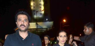 Anil Kapoor and Sunita Kapoor visit Siddhivinayak temple