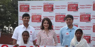 Anushka Sharma launches Support My School campaign