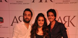Shraddha Kapoor, Siddhanth Kapoor and Karan Deol at lounge launch