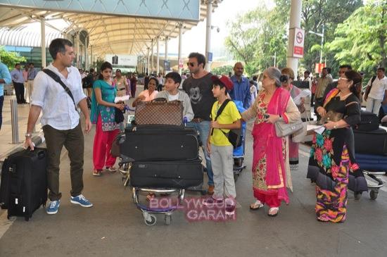 Arpita K wedding_Salman khan family_Mumbai airport-8