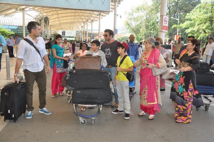 Arpita Khan airport