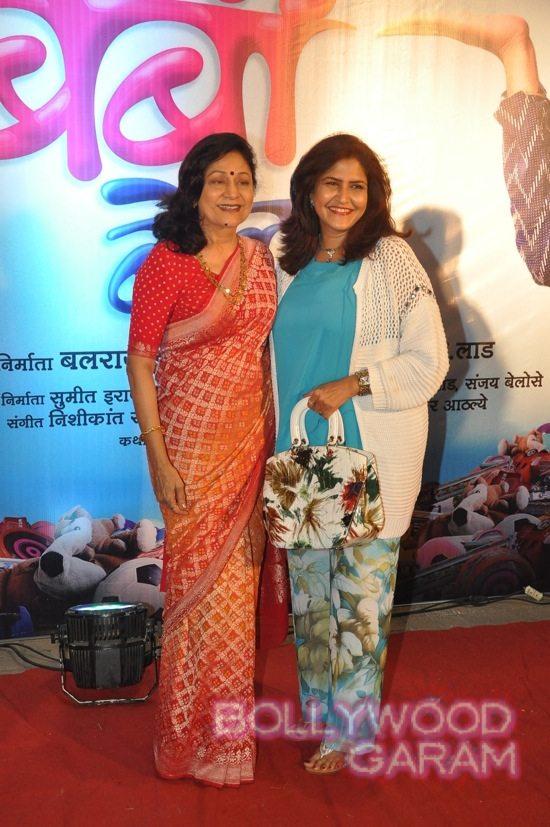 Aruna Irani at Bol Baby premiere-5