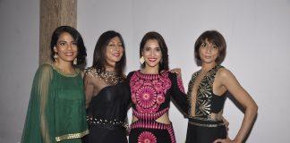 Rashmi Nigam and Priyanka Bose at Malini Ramani and Amit Agarwal preview