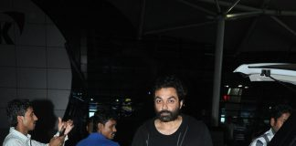 Rani Mukerji, Bobby Deol and MS Dhoni seen at Mumbai airport