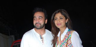 Shilpa Shetty and Raj Kundra at 'Chaar Sahibzaade' special screening