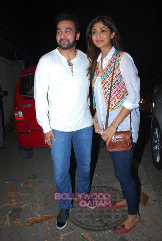Chaar sahibzaade special screening_shilpa shetty and raj kundra-0