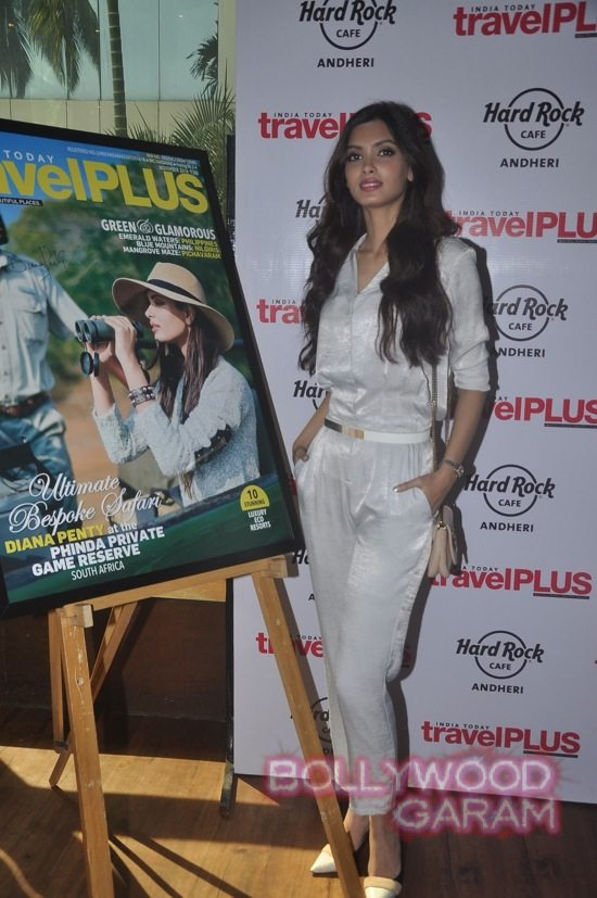 Diana Penty on the cover of Travel Magazine-2