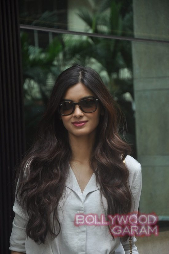 Diana Penty on the cover of Travel Magazine-6