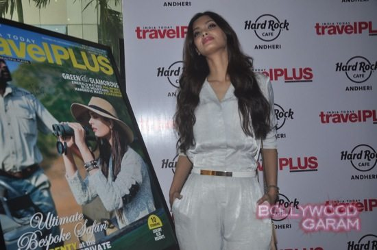 Diana Penty on the cover of Travel Magazine-8
