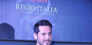 Dino Morea walks the ramp for Raymond