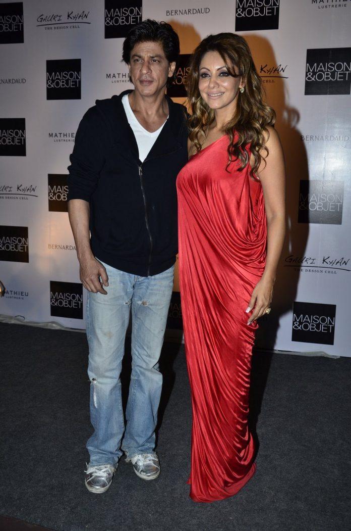 Gauri Khan and Shahrukh