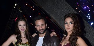 Saif Ali Khan, Ileana D'Cruz and Kalki Koechlin on the sets of India's Raw Star