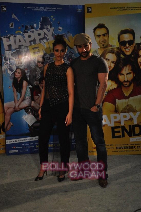 Happy ending_Ileana Dcruz and Saif ali Khan-5
