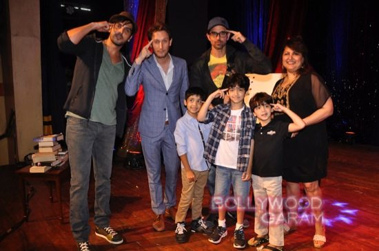 Hrithik Roshan and his two sons-7