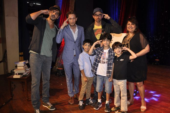 Hrithik and children