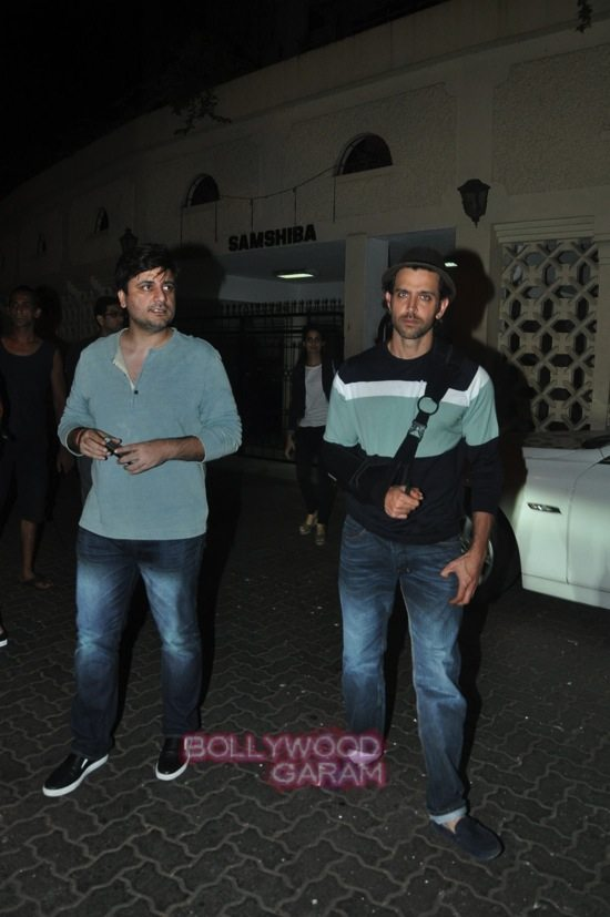 Hrithik with kunal kapoor and sonali bendre-1