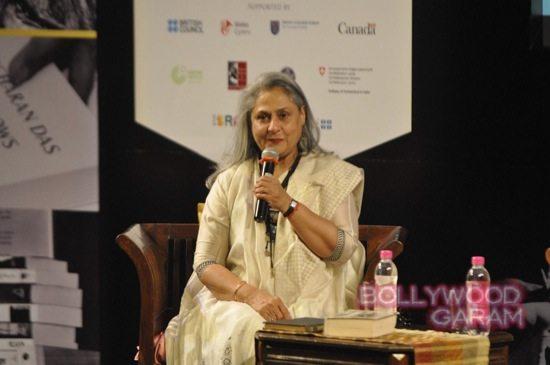 Jaya Bachchan at Tata Lit fest-1